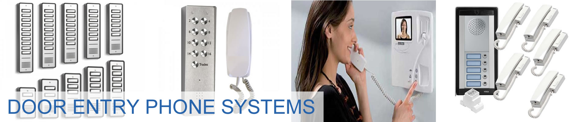 Door Entry Phone Systems & Intercoms