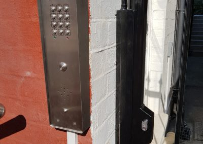 Gate with Door Entry Phone Systems