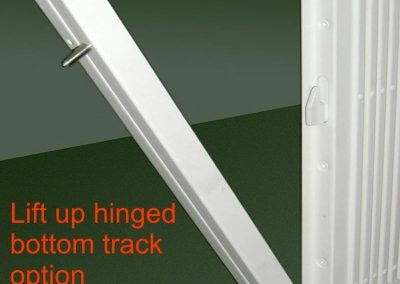 Lift up Hinged Track
